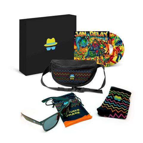 √Earth, Wind & Feiern (Ltd. Fanbox + Bauchtasche) von Jan Delay -  jetzt im Jan Delay Shop