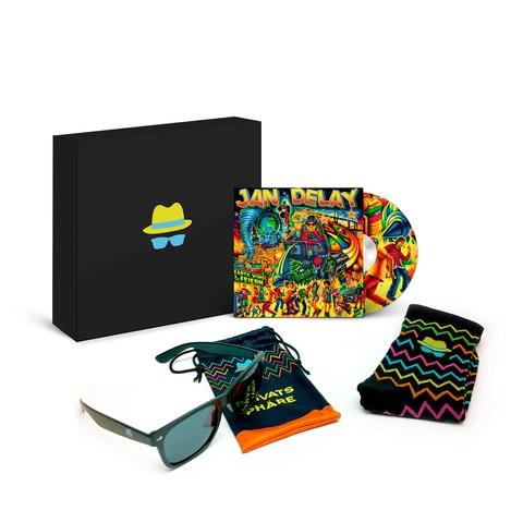 √Earth, Wind & Feiern (Ltd. Fanbox) von Jan Delay -  jetzt im Jan Delay Shop